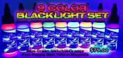 Bloodline BLACKLIGHT 9 Colours set