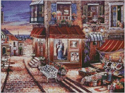 Galerie Romantique cross stitch kits, 14ct, Egypt cotton thread 400300 stitch, 8265 cm cross stitch kits