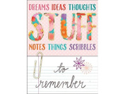 Molly & Rex WIB Pocket Note Pad Stuff To Remember
