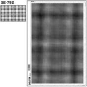"Deleter Screen Tone Jr JR-164 [ Plaid Checker Pattern ] [Sheet Size 182x253mm (7.16""x9.96"")] For Comic Manga Illustration"