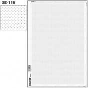 Deleter Screen Tone SE-116 [Dot Pattern Wider Spacing Small Dot] [B4 Size