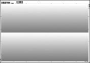 Deleter Screen Tone SE-954 [Gradation 60L/0-40% 2 Rows)] [B4 Size