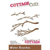 CottageCutz Die-Winter Branches, 7.6cm x 3.6cm