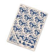 Tattered Lace Card Embossing Folder 4pc 21cm Set - Holly Flourish
