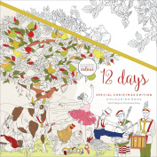 KaiserColour Perfect Bound Colouring Book 25cm x 25cm -12 Days Of Christmas