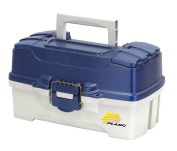 Plano 2-Tray Tackle Box with Dual Top Access