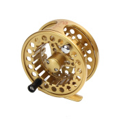 Croch Fly Fishing Reel with CNC-machined Aluminium Alloy Body with 30m Fly Lines and Tapered Leader