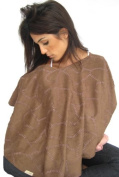 L'oved Baby Nursing Shawl OutontheTown Brown