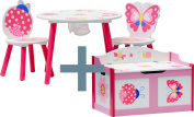 """IB-Style - Children's seating area """"Papillon"""" 