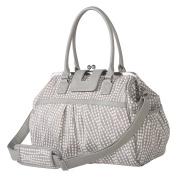 Trend Lab Waverly Baby Strands Sterling Framed Nappy Bag, Grey, Cream