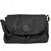 Tory Burch Nylon Messenger Baby Nappy Bag Tote - Black