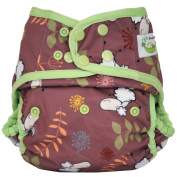 Sweet Pea One Size Nappy Cover, New Sheep
