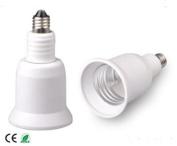 E-Simpo 6-pack E11-E14-E26 Adapter,E11-E14-E26 Lamp Base Converter,PBT, Z1100