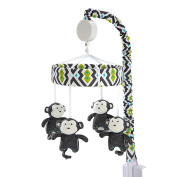 Baby Safari Monkey Musical Mobile by Happy Chic Baby by Jonathan Adler