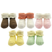 Wrapables Macaroon Colour Baby Socks