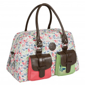 Lässig Changing Bag Vintage Metro Bag Butterfly Spring