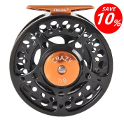 [Holiday Sales] Fiblink Fly Fishing Reel with Large Arbour 2+1 BB, CNC Machined Aluminium Alloy Body and Spool