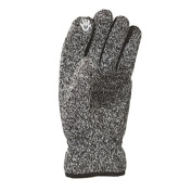 Trekmates Arran Fleece Lined Windproof Knitted Touchscreen Glove - Charcoal