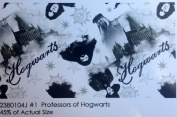 Harry Potter Professors Of Hogwarts Cotton Fabric