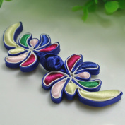 Lyracces Sewing Fasteners knotting flower Satin Fabric Cotton Stuff Chinese decorative knots Cheongsam Frogging Button 1pair