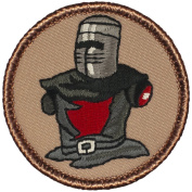 Armless Knight Patrol Patch - 5.1cm Diameter Round Embroidered Patch