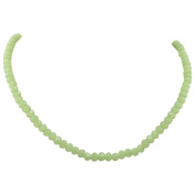 Jewel Fab Art Beauitiful Quality Round Shape Faceted Chalcedony Gemstone Beads Chain Necklace Jewellery