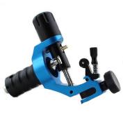 HoriKing Tattoo Supply Aircraft Aluminium Alloy Rotary Motor Tattoo Machine for Bady Art Supply Blue