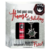 GIBS Find Your Way Home Set - Bush Master Oil (30ml) and Compass Keychain