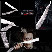 Sweeney Todd Knife The Demon Barber Movie Collectible Razor Collectible Replica