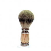 GOLDDACHS Vintage Rubber Wood Shaving Brush