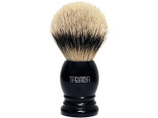 Thater 4292/3 Silvertip Shaving Brush with Black Handle
