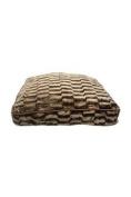 Pet Maison Faux Fur Mink Rectangle Pet Bed Pet Bed