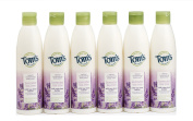 Tom's of Maine Natural Moisturising Body Wash Soap with Raw Shea Butter, Lavender Tea Tree, 350ml, 6 Count
