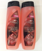 2pck - Soft Whisper Country Fresh Apple Limited Edition 530ml Body Wash