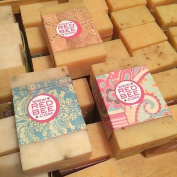 Red Bee Honey - All Natural Goat's Milk Bar Soap - Lavender Oatmeal