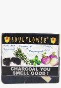 Soulflower Charcoal You Smell Good Soap, 150G