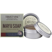 Mayu Natural Soap with Tin Case 2p