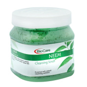 BioCare (England) Neem Cleansing Scrub With Natural Cleansing Exfoliant 500ml