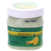 Biocare BANANA SCRUB Enriched With Banana extract & multi-fruit enzyme 500ml