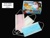 50 PCS 3 PLY EAR LOOP DISPOSABLE SURGICAL FACE MASK