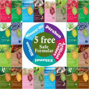 {Entel} 24 Pcs Combo-Pack, Premium Korean Essence Facial Mask Sheet (12 Types x 2 pcs), Five Chemical Free : No Paraben, No Silicon, No Mineral Oil, No Artificial Colours,No Ethanol