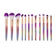 Makeup Brushes Sets, Fullkang 12Pcs Fantasy Set Foundation Powder Eyeshadow Kits