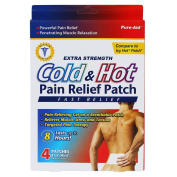 Pure-Aid Cold & Hot Pain Relief Patch-4ct