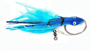 Boone Dolphin 7/0 Wire Rigged Rig, Blue Mack