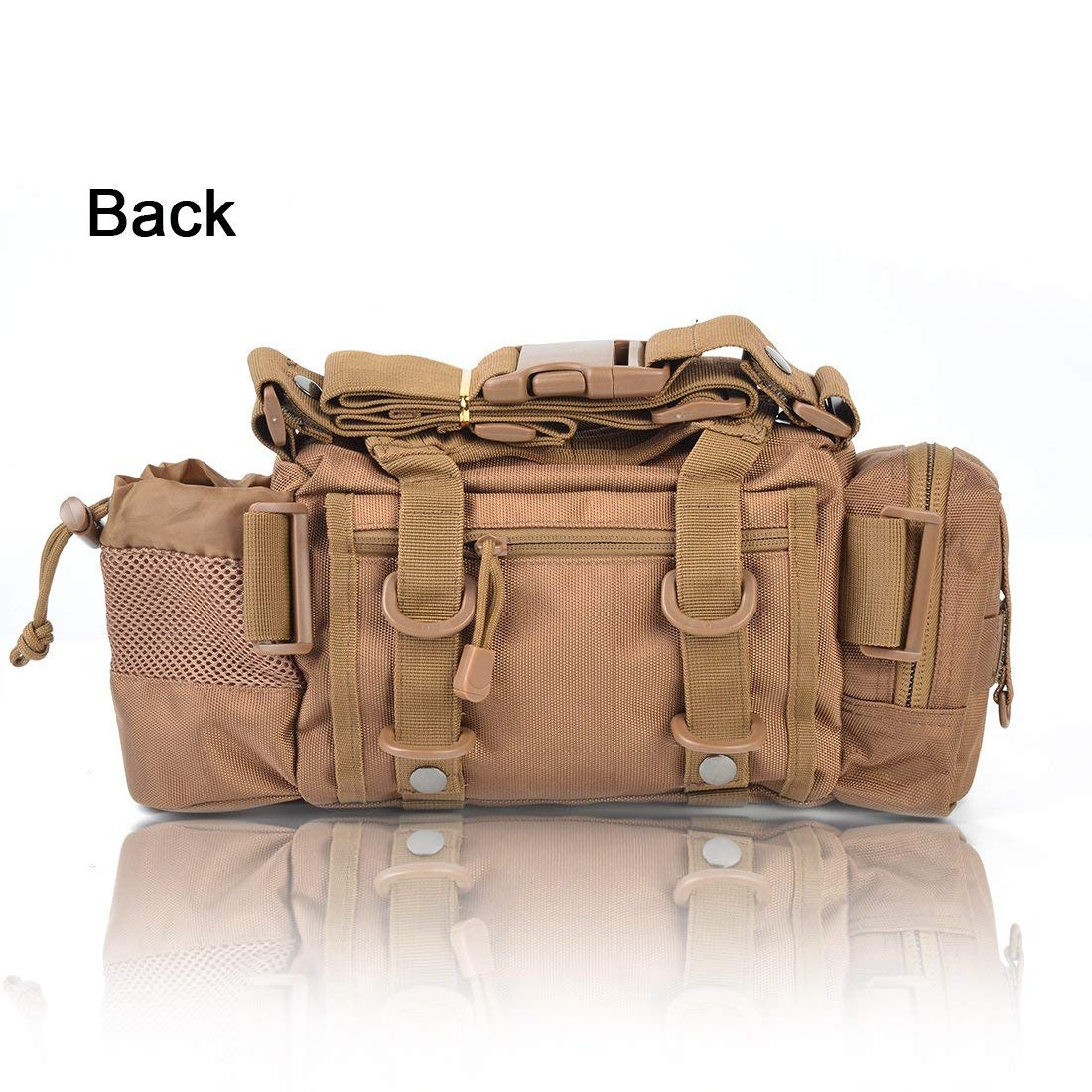 8912275c9090 BLISSWILL Portable Outdoor Fishing Tackle Bags Waist Fishing Bag Fishing  Gear Storage Bag Water-Resistant Multifunctional Bag Fly Fishing Bag  Durable ...