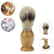 Razor Brush, ZY Professional Barber Salon Shave Shaving Razor Brush Wood Handle Tool