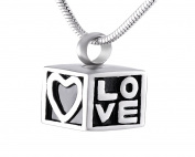 Casket Etcetera Box Of Love Cremation Urn Necklace jewellery for Women