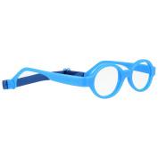 Miraflex Baby Lux2 Kids Eye Glass Frames | 40/14 Royal Blue | Age:5-7