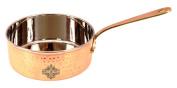 IndianArtVilla 6.4cm X 15cm Steel Pan Pot 1000 ML - Serving Cooking Dishes Dal Vegetables Rice Briyani Home Hotel Restaurant Tableware Kitchen & Dining