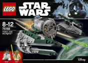 Star Wars LEGO Yoda's Jedi Starfighter 75168